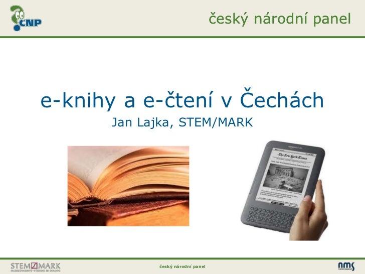 e-knihy a e-čtení v Čechách