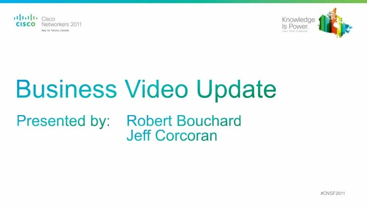 Business Video Update from Cisco Systems