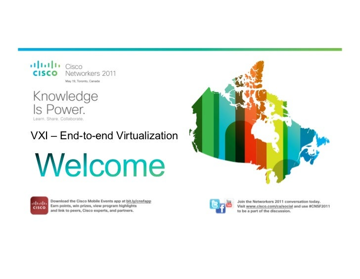 VXI – End-to-end Virtualization   BRKVIR-2002   © 2010 Cisco and/or its affiliates. All rights reserved.   Cisco Public   1