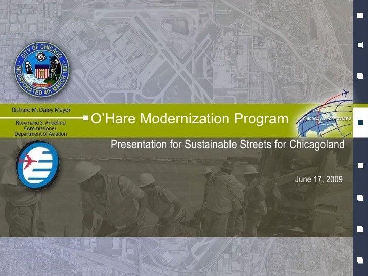 O'Hare Modernization Program