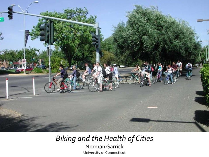 Biking and the Vitality of Cities