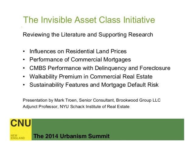 The Invisible Asset Class