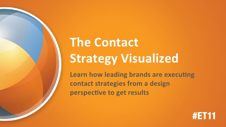 Connections 2011: The Contact Strategy Visualized