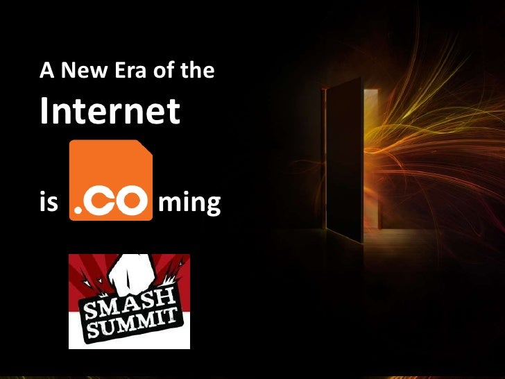 A New Era of the<br />Internet <br />ming<br />is<br />