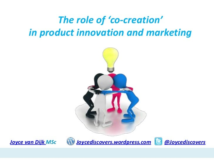 Co-creation & consumer involvement in NPD