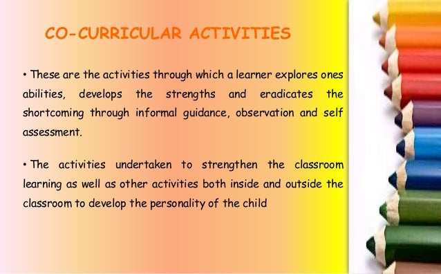short essay on importance of co curricular activities in school