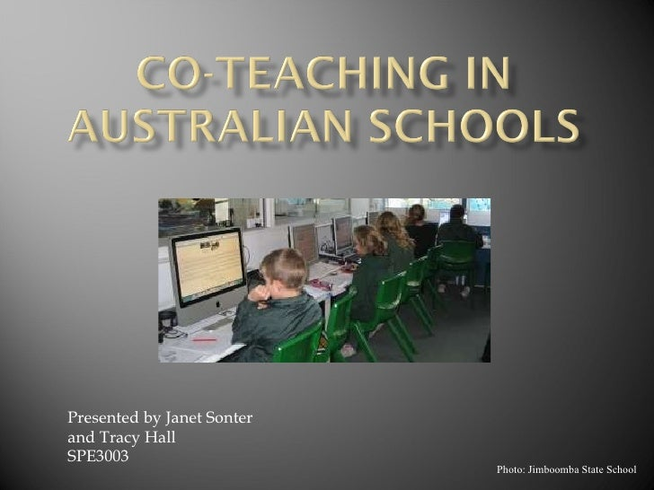 Photo: Jimboomba State School Presented by Janet Sonter and Tracy Hall SPE3003
