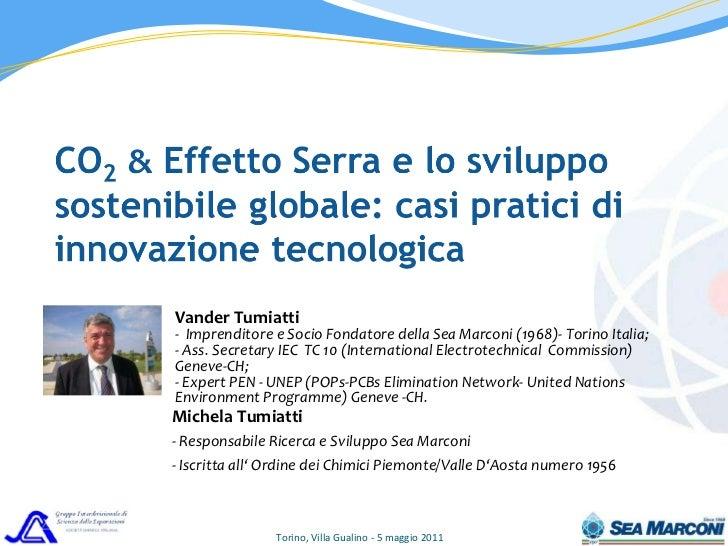 CO2,  Effetto Serra e lo sviluppo sostenibile2
