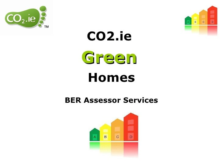 CO2.ie  Green   Homes BER Assessor Services