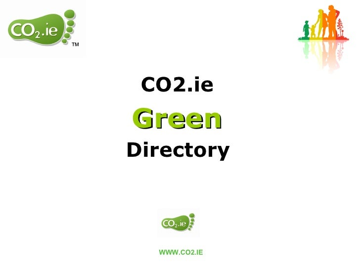 CO2.ie  Green   Directory