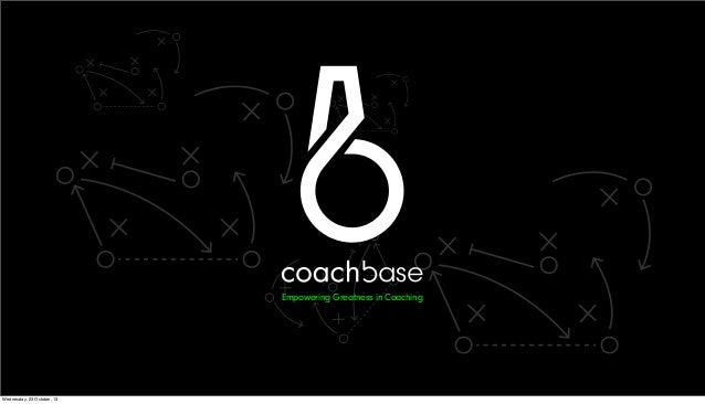 Startup Saturday: Mobilliance 2013- Coachbase