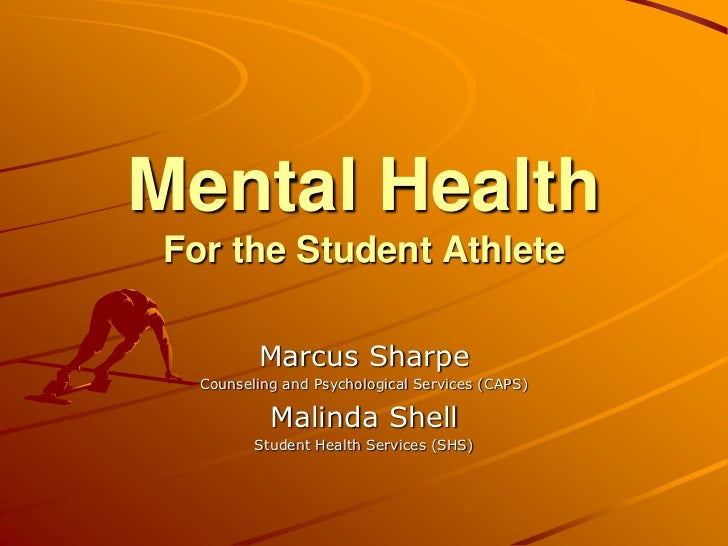 Mental Health for the Student Athlete