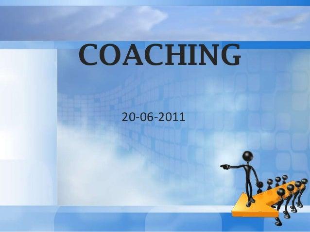 COACHING  20-06-2011