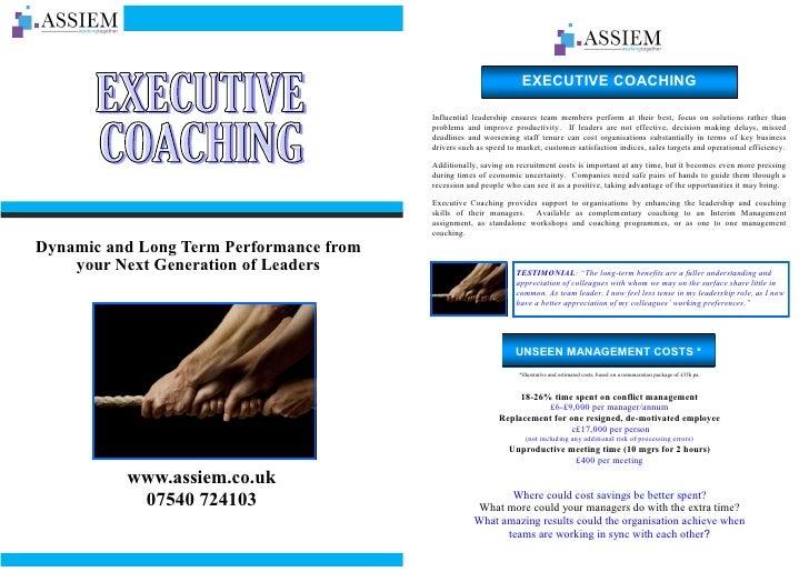 Coaching Brochure