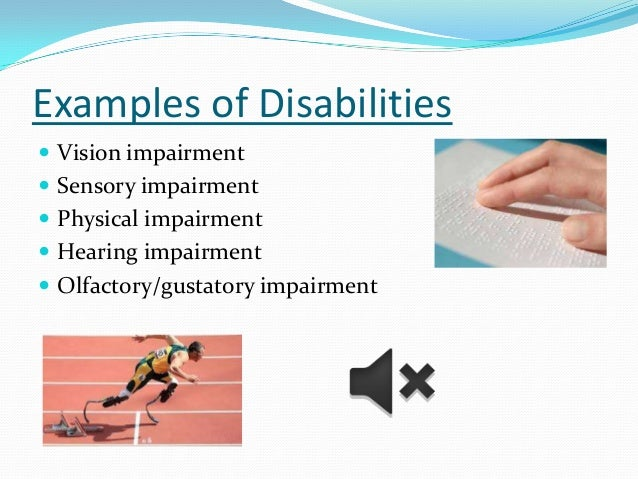 the definition of deviance and a view of hearing impaired people Disability, disability is an impairment that may be cognitive, developmental, intellectual, mental, physical, sensory, or some combination of these it.