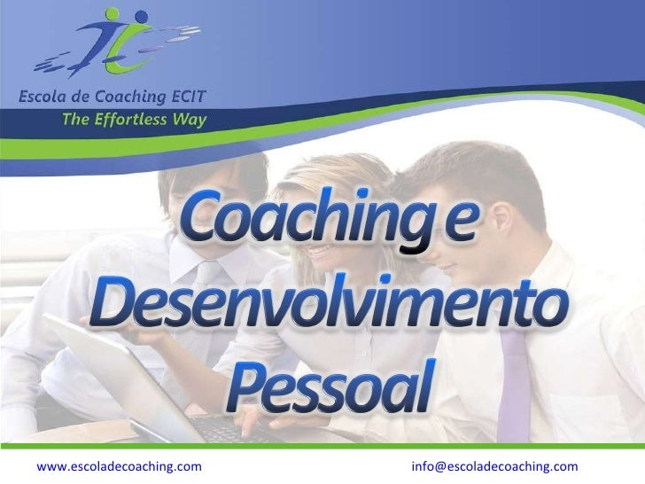 Coaching E  Desenvolvimento  Pessoal