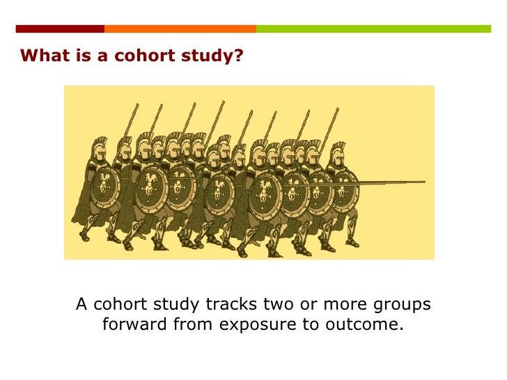 case control study vs prospective cohort study