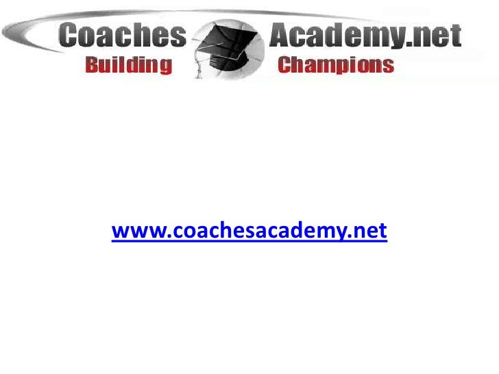 www.coachesacademy.net<br />Basketball Coaching Development <br />