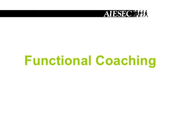 Functional Coaching