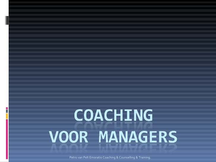 Coaching Voor Managers1