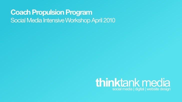 Social Media Workshop - Coaches