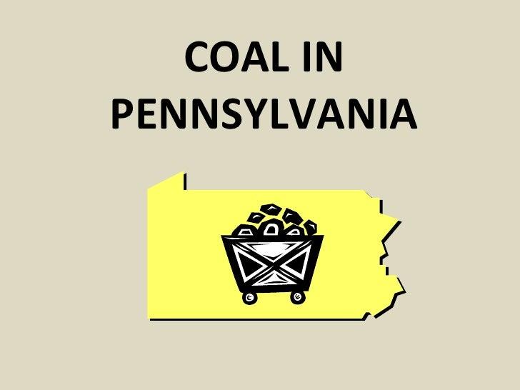 Coal In Pa