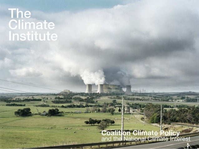 Coalition Climate Policy and the National Climate Interest