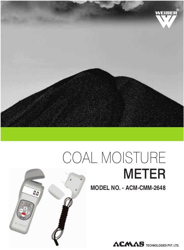 R  COAL MOISTURE METER MODEL NO. - ACM-CMM-2648