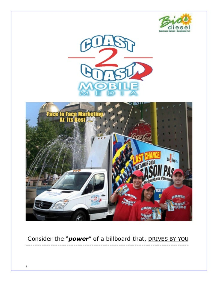 Coast 2 Coast Mobile Media packet