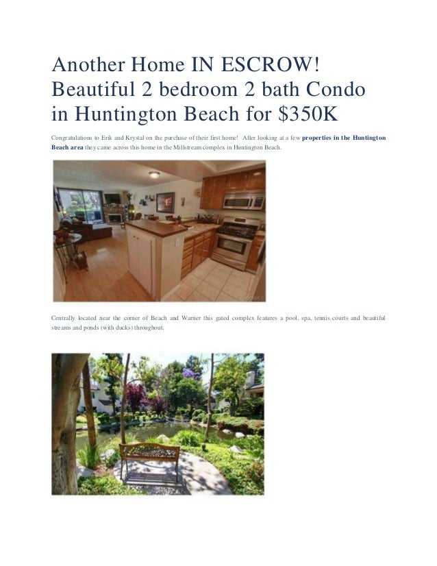 Coastal Real Estate | Another Home In Escrow
