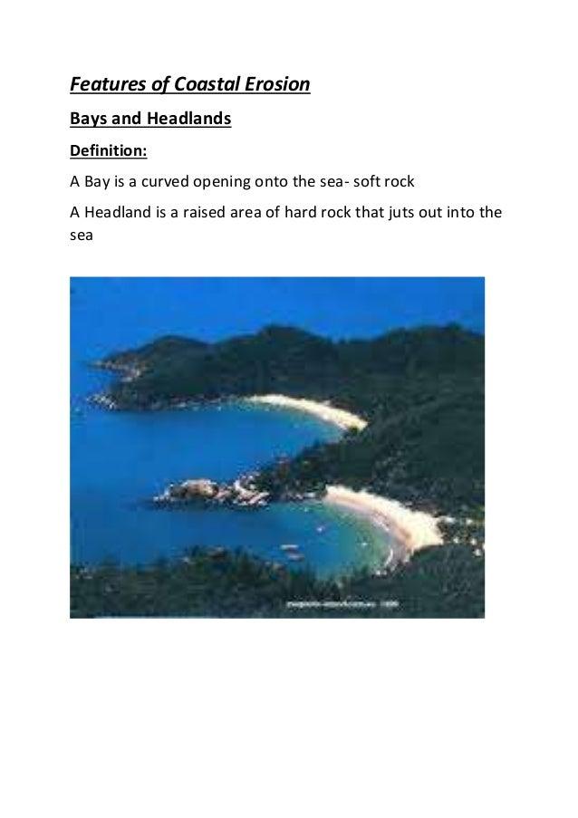 Coastal Erosion Bays And Headlands