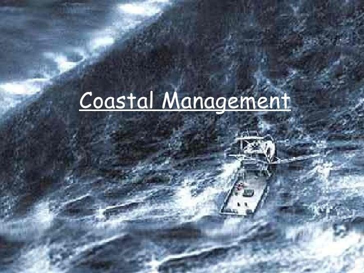 Coastal Management 4