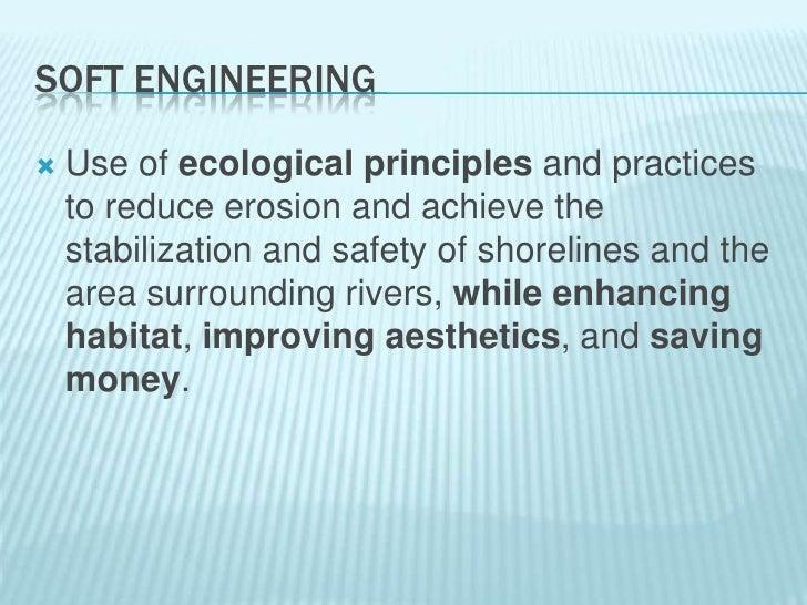 Coastal protection soft engineering