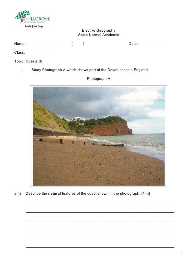 Sec4 - Coast Exercise 1