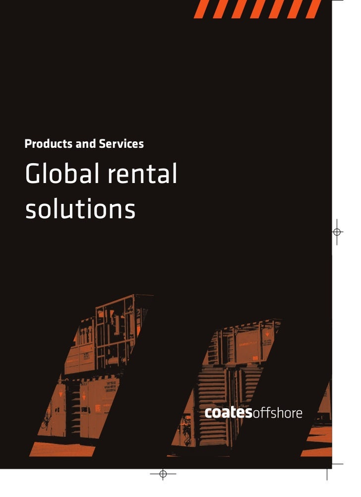 Products and ServicesGlobal rentalsolutions