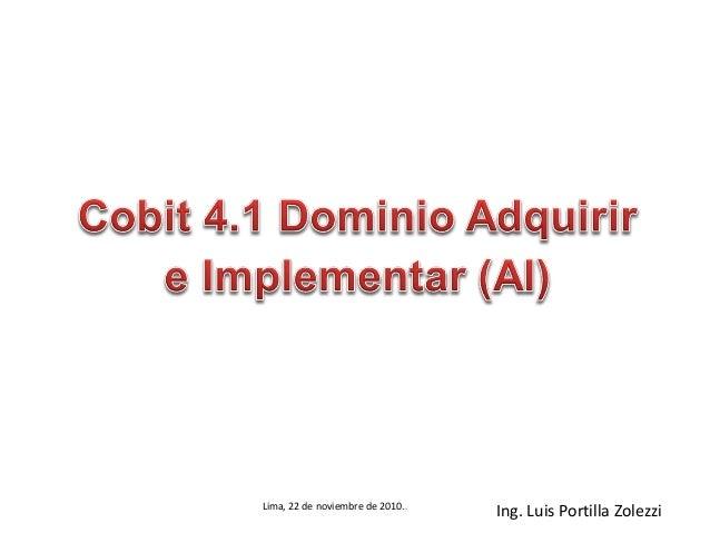 Cobit v4.1