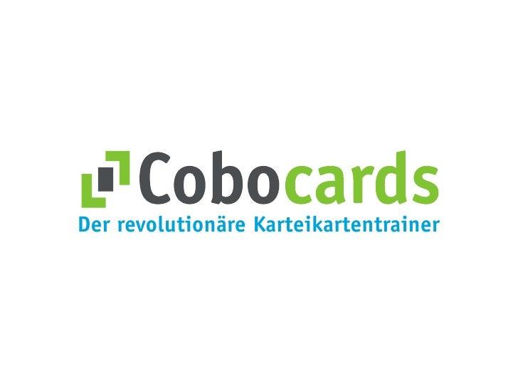 Der revolutionäre Karteikartentrainer