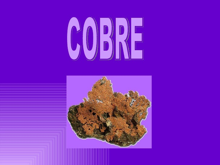 Cobre