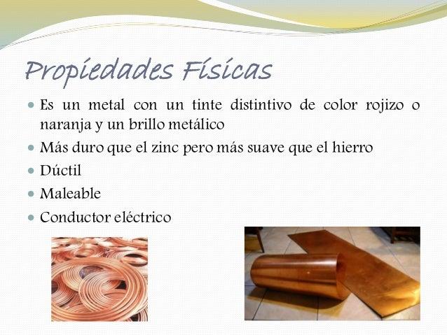 El cobre for Marmol caracteristicas y usos
