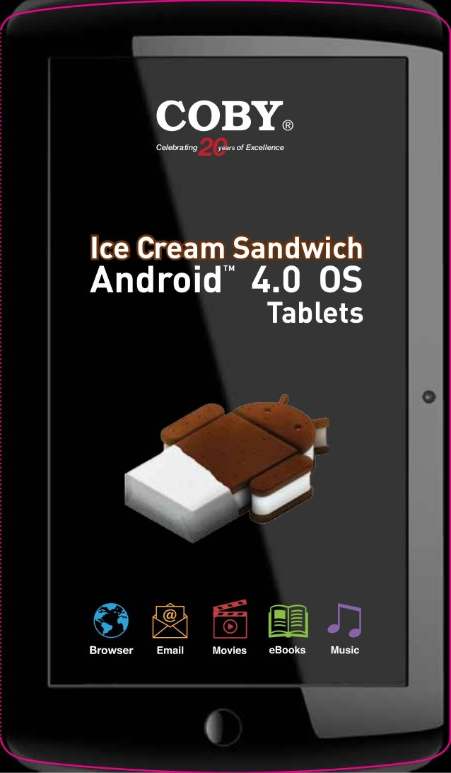 Coby Kyros MID7033 4 7.0 android 4.0(ICS) Touchscreen Tablet