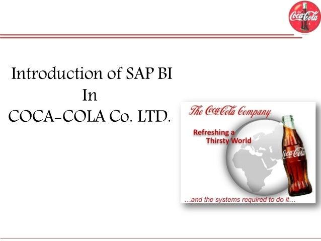 Implementation of SAP BI in Coca Cola