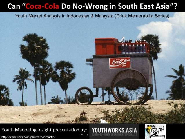 """Youth Marketing Insight presentation by: Can """"Coca-Cola Do No-Wrong in South East Asia""""? Youth Market Analysis in Indonesi..."""