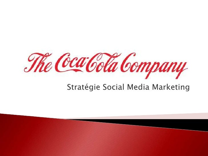 Stratégie Social Media Marketing<br />