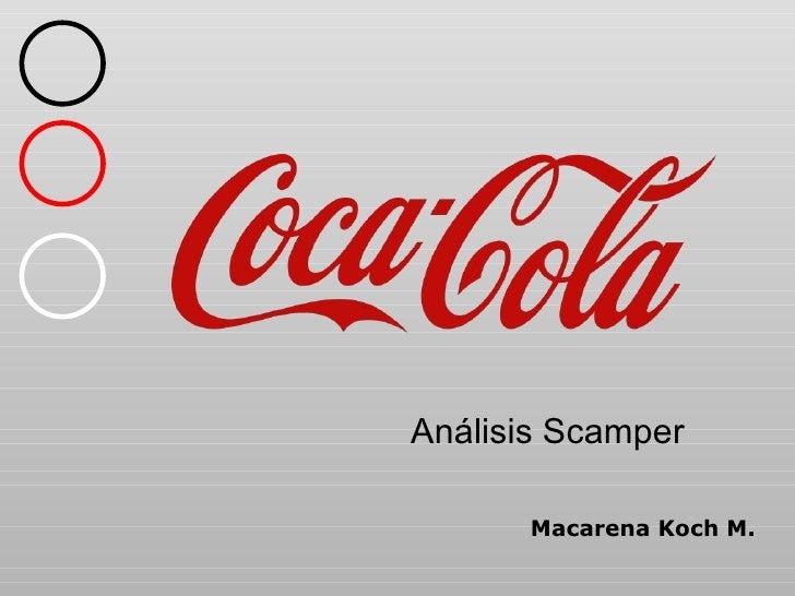 Análisis Scamper Macarena Koch M.