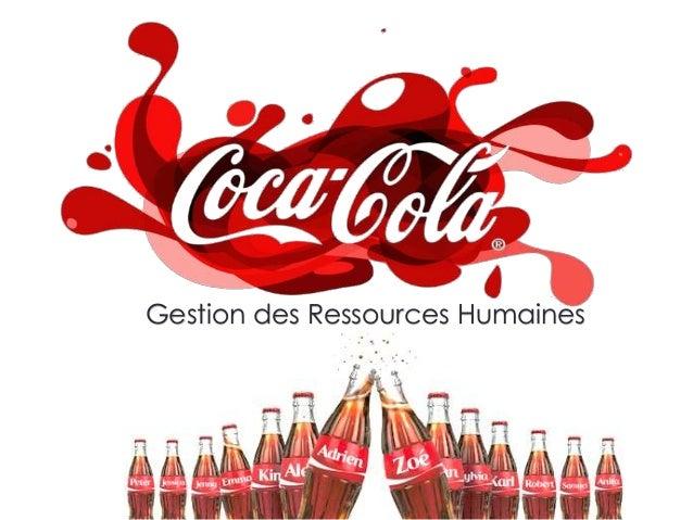 MarieClaraKasongo gestion des ressources humaines chez coca