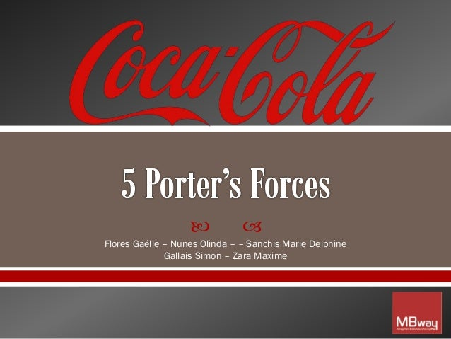 cola wars porter five forces Porter's five forces model is a framework for the industry analysis and development of business strategy three (3) of porter's five (5) forces refers to rivalry from external/outside sources such as micro environment, macro environment and rest are internal threats.