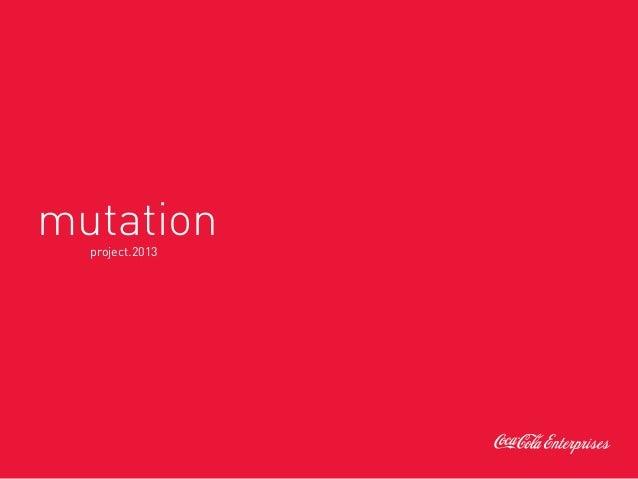 Mutation - Coca-Cola Enterprises