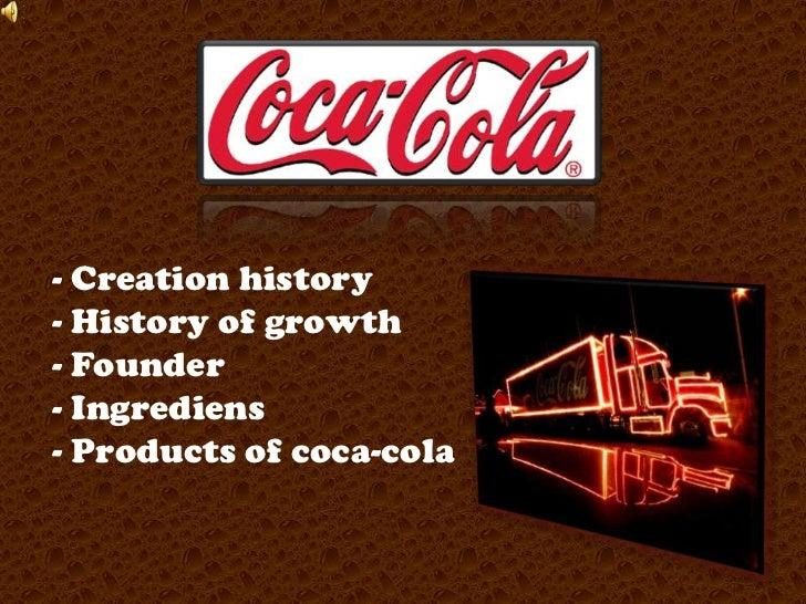 <ul><li>Creationhistory