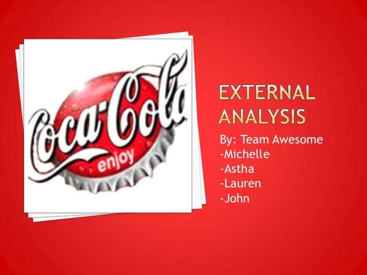 Coca Cola Executive Summary