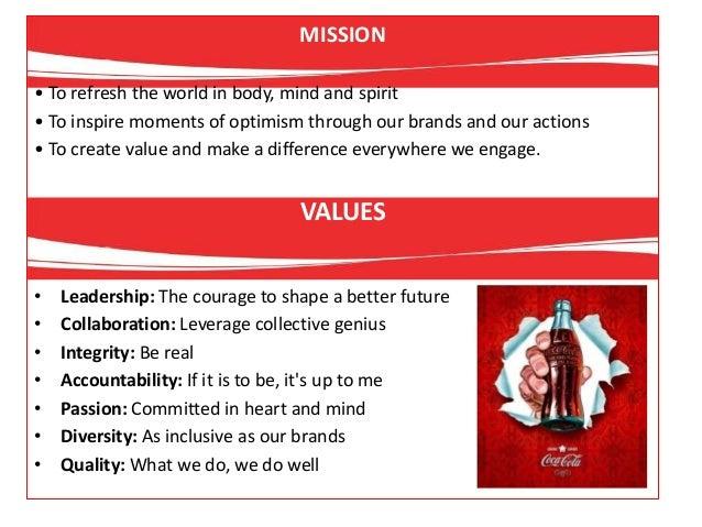 the coca cola company overview essay